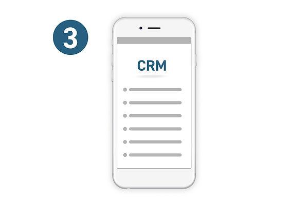 Digital marketing leads for CRM