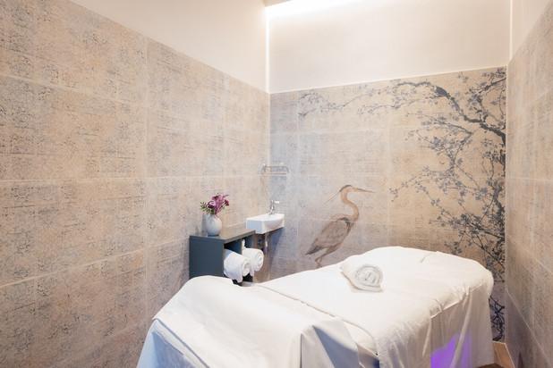 Private banya massage room