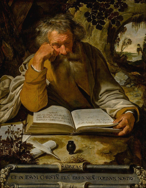 Saint Andrew the Apostle by Artus Wolffort