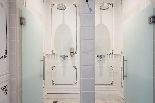 Private banya showers