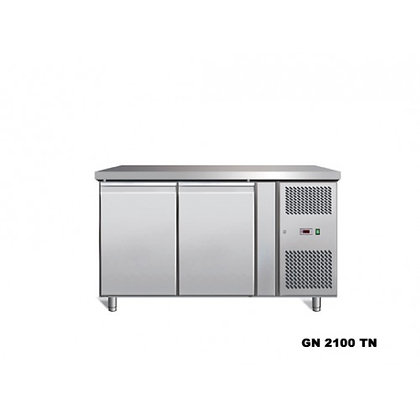 double door freezer counter