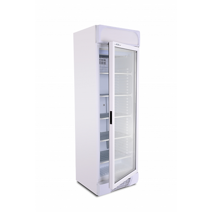 glass door freezer UF470G from....