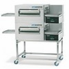 Lincoln Double Gas/Elec Conveyor Ovens from..