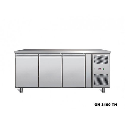 triple door freezer counter