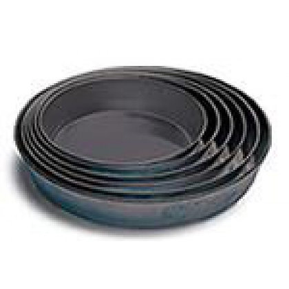 "Black Iron Pizza Pans (1.5"" Deep) from...."