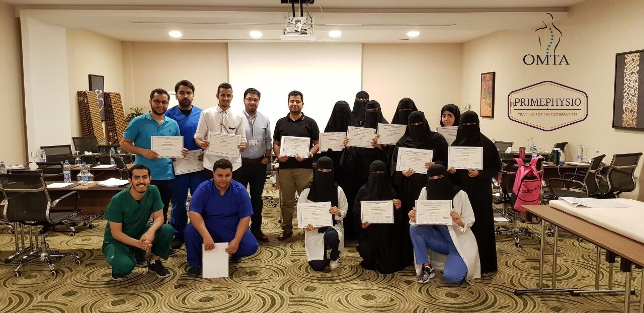 PRIMEPHYSIO.Physiotherapy courses.Saudi arabia