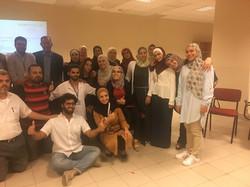 Collaboration with handicap international humanitarian association jordan