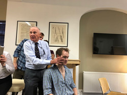 Brian Mulligan presenting a master class in collaboration with primephysio in London 2018
