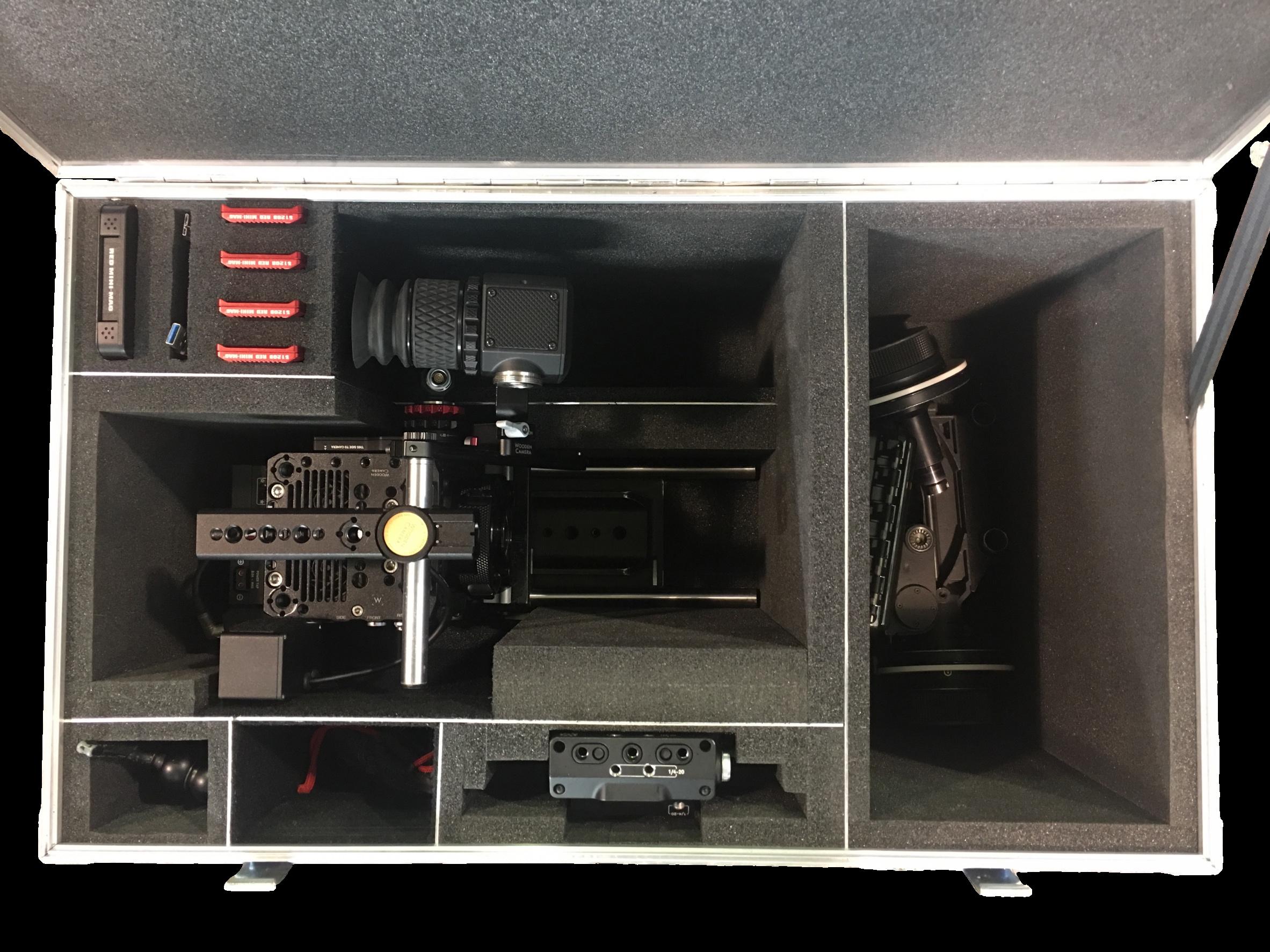 Plastazote Camera Case Fit-Out