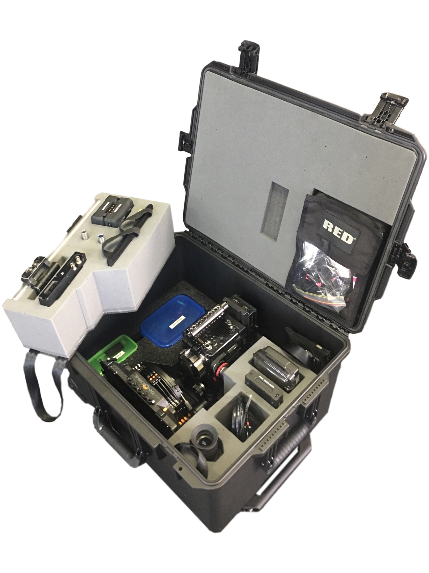 29-400 PU & Etha-220 Camera Case Fit-out with Removable Accessory Inserts