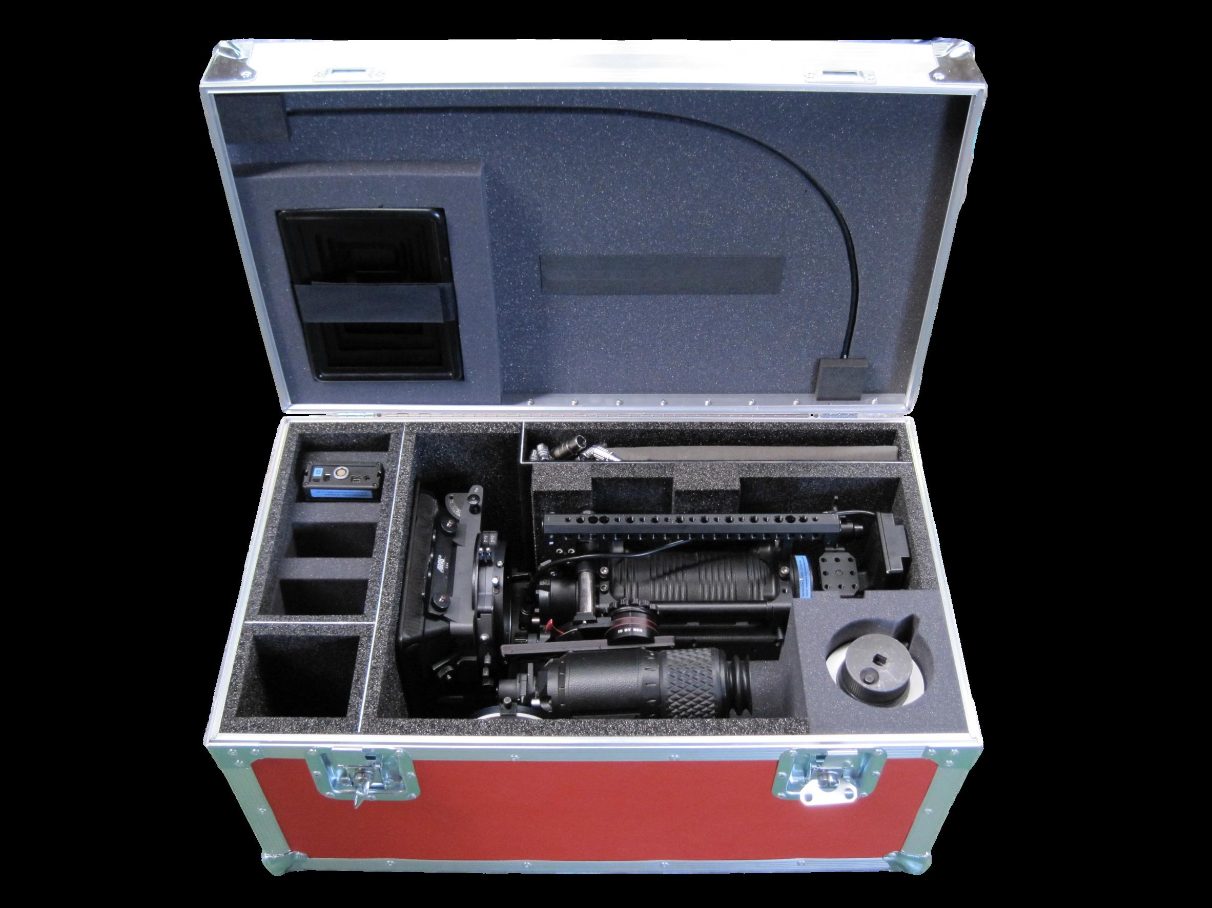 29-400 PU, Etha-220 & Plastazote Camera Case Fit-Out