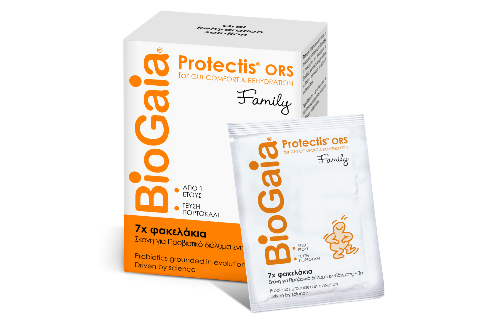 BioGaia Protectis® ORS Family (7 φακελάκια)