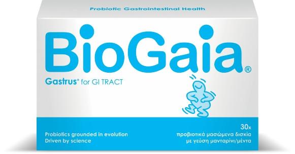BioGaia Gastrus® (30 μασώμενα δισκία)
