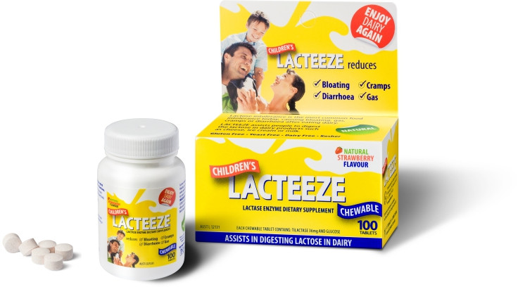 Lacteeze® (100 μασώμενα δισκία)
