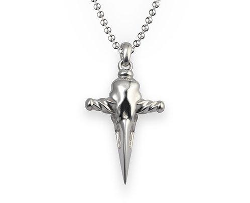 Raven Skull Necklace