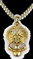 Ornamental Skull Necklace