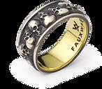 Multi skull ring