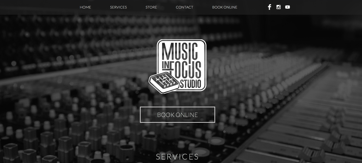 Music In Focus Website