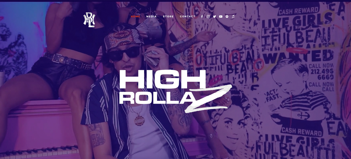 High Rollaz Website