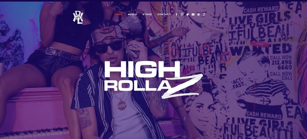 High Rollaz Website