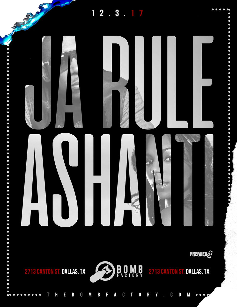 Ja Rule & Ashanti Concert Poster
