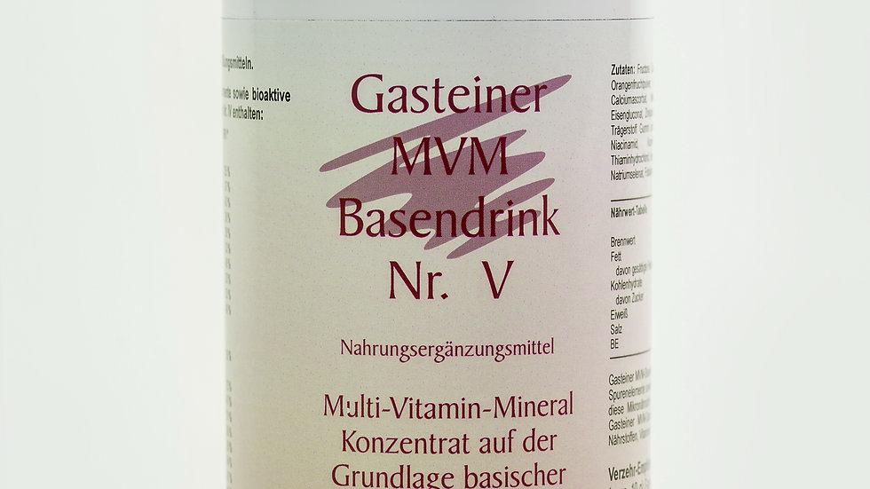 Gasteiner MVM-Basendrink Nr. V