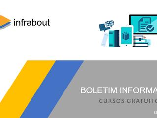 Boletim Informativo – Cursos Gratuitos!