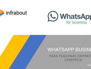 Boletim Informativo - WhatsApp Business!