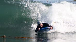 Clive Soden on Boogie Board, 2008