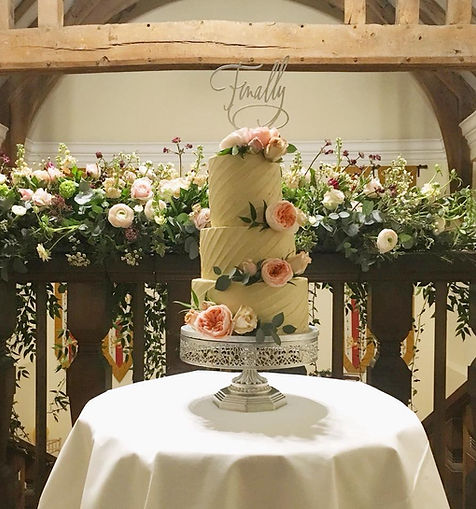 Wedding Cake Maker Free From, Gluten Free, Vegan, Special Dietary Requirements