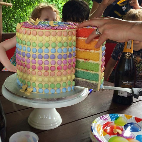 Rainbow Cakes Suffolk