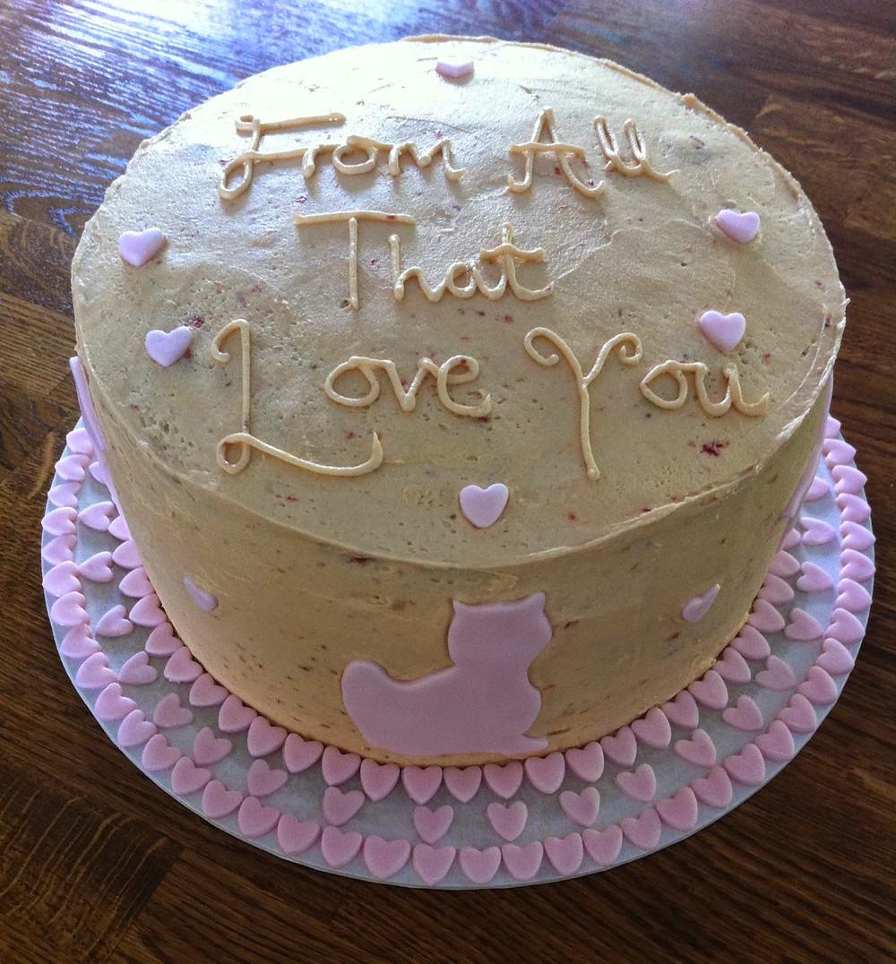 Gluten Free Vanilla Cake