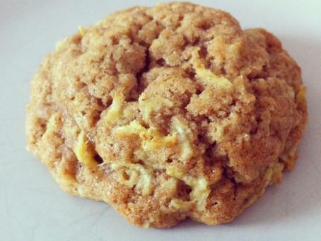 Organic Spelt & Apple Cookies