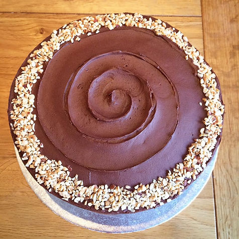 Chocolate Beetroot Cake with Toasted Hazelnuts