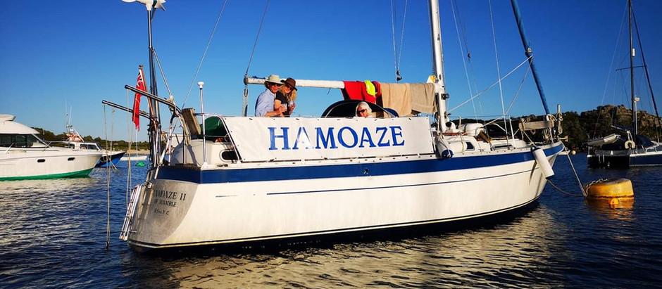Sailing Over the Shelf & into the Atlantic