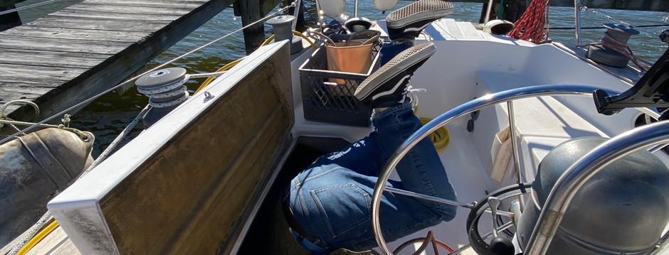 Boat Yoga & A Bilge Counter