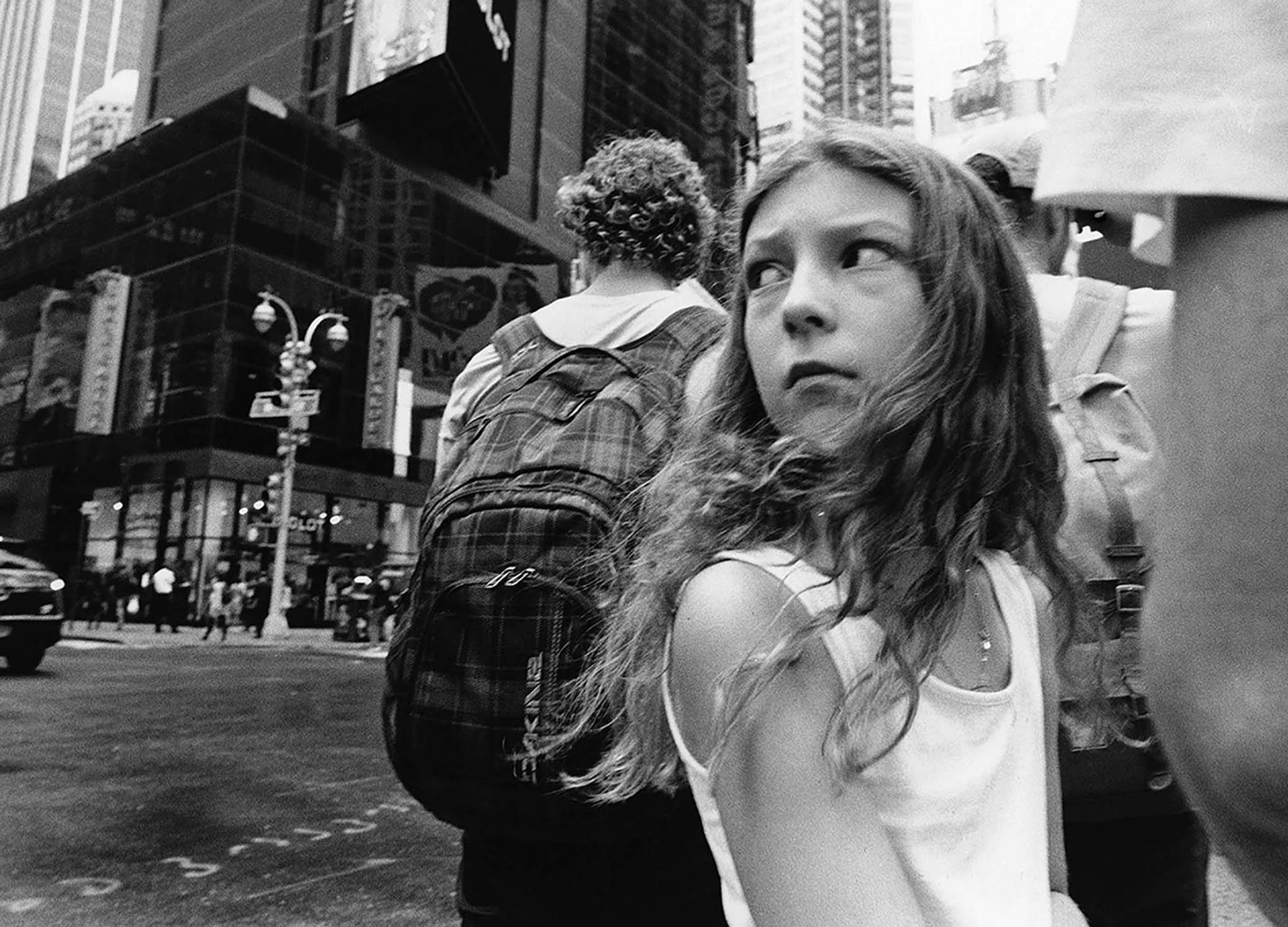 Girl Near Times Square, New York, NY, 2015