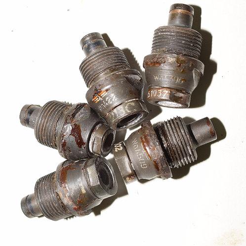MINT German WW2 BZD Base fuzes for 3.7cm, 5cm and 75mm AP Shells