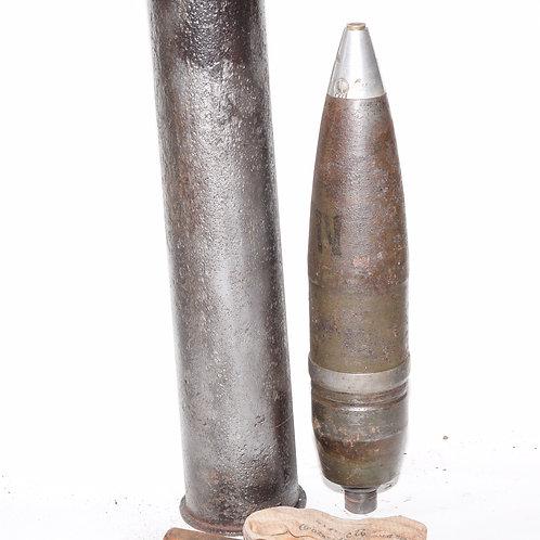 RARE German WW2 7.62cm SprGr for PAK 36 (r) Round