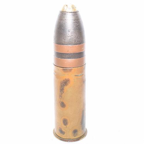 RARE German WW1 Naval 37mm HE Pom Pom Round