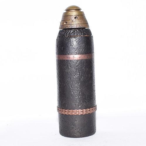 WW1 Austrian 8cm M8 Shrapnel Projectile