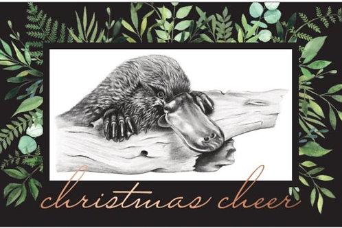 Platypus christmas card