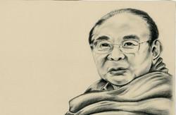 Tibetan Buddhist 'Sogyal Rinpoche'
