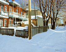 Back Yard, Montreal (SOLD)