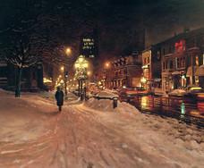 Christmas, Montreal (SOLD)