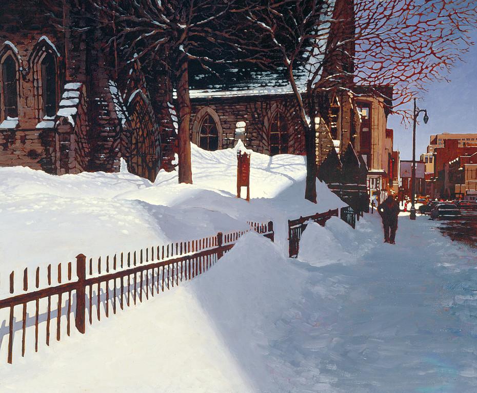 Saint Catherine Street, Montreal (SOLD)