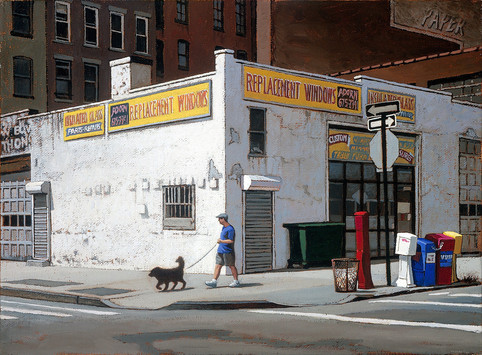 Walking the Dog, New York (SOLD)