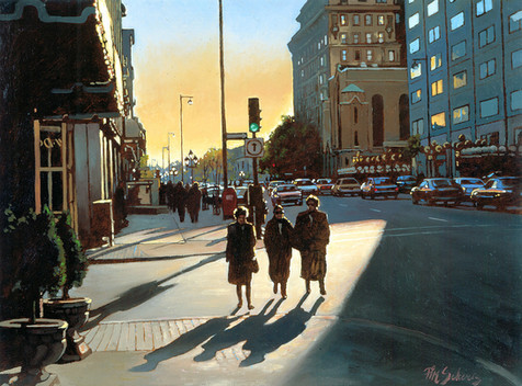 Rue Sherbrooke, Montreal (SOLD)