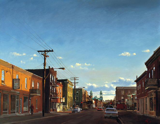 Evening Light, Montreal (SOLD)