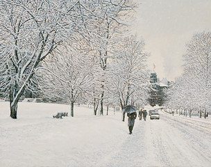 McGill Snow, Montreal (SOLD)